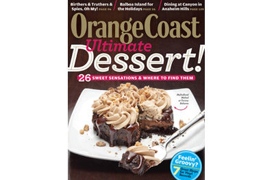 OC Mag staff faves:  Desserts in print, desserts online… you'd think it was the HOLIDAYS or something