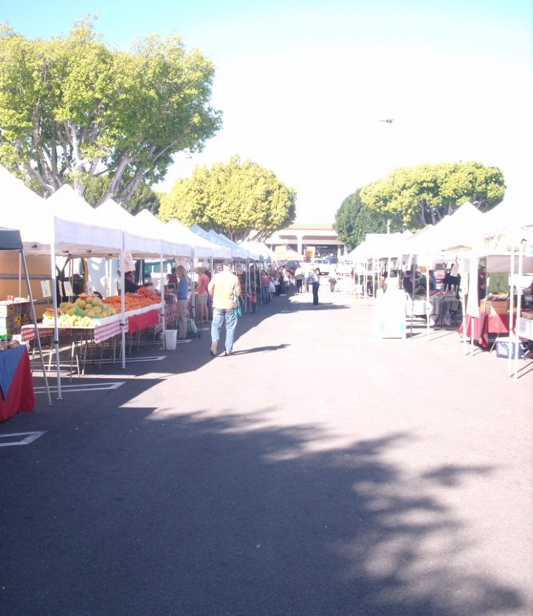 Laguna Hills Farmers Market:  Just the fruit, ma'am.  Oh, and the veg, too.