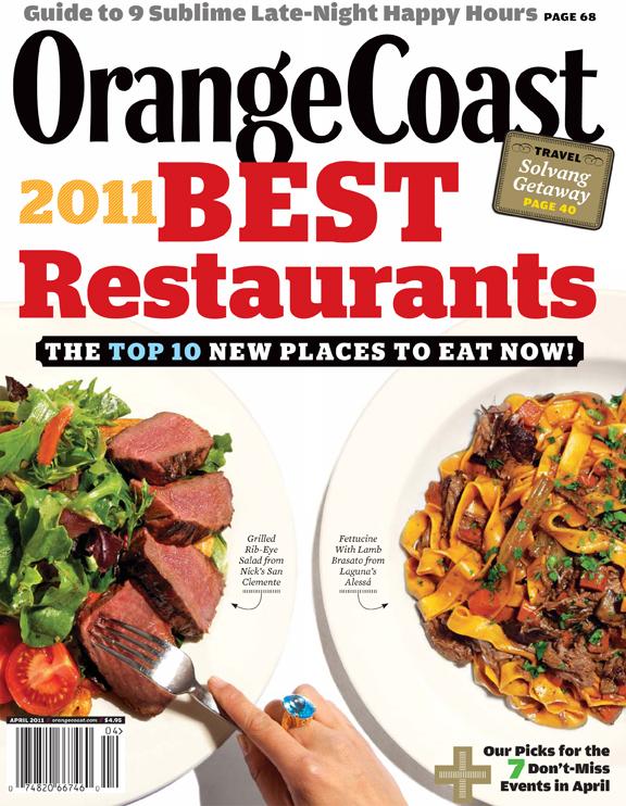 Best Restaurants 2011 + more OC food