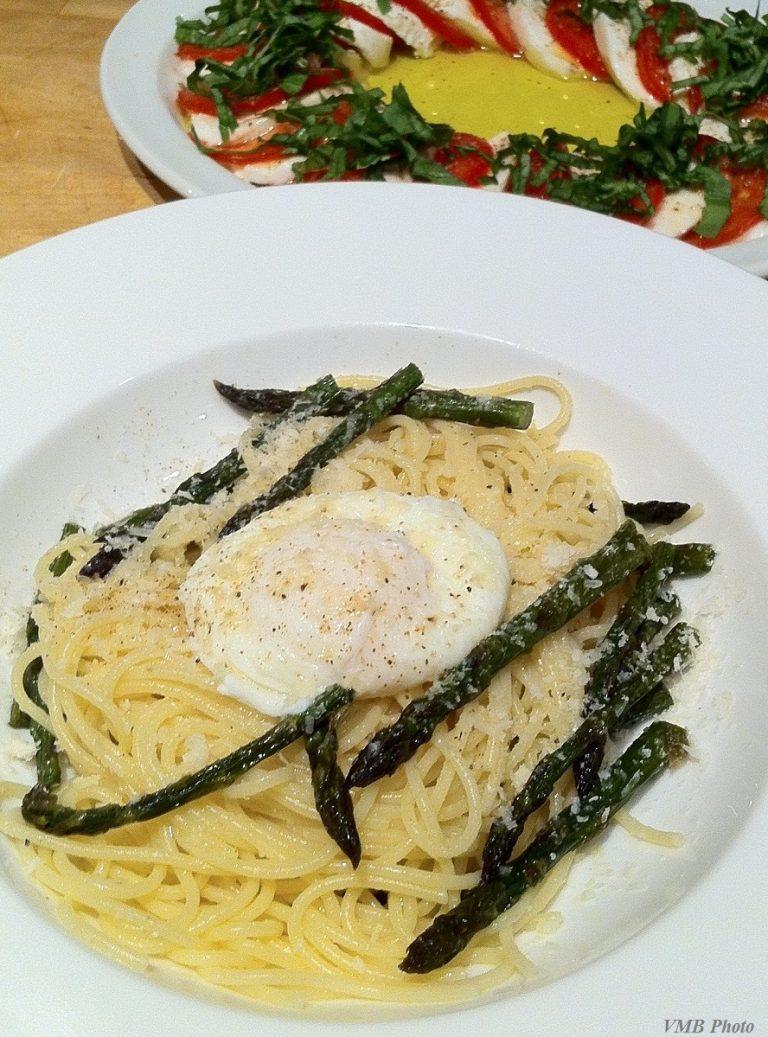 Post-honeymoon asparagus