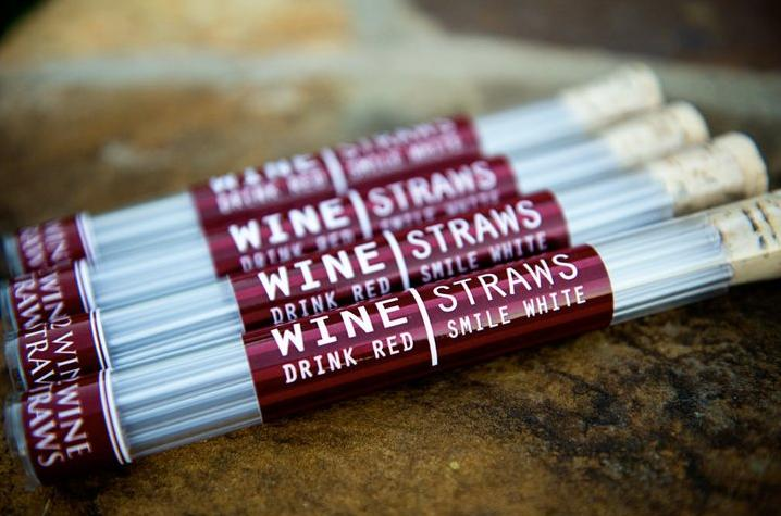 Cool new product: wine straws