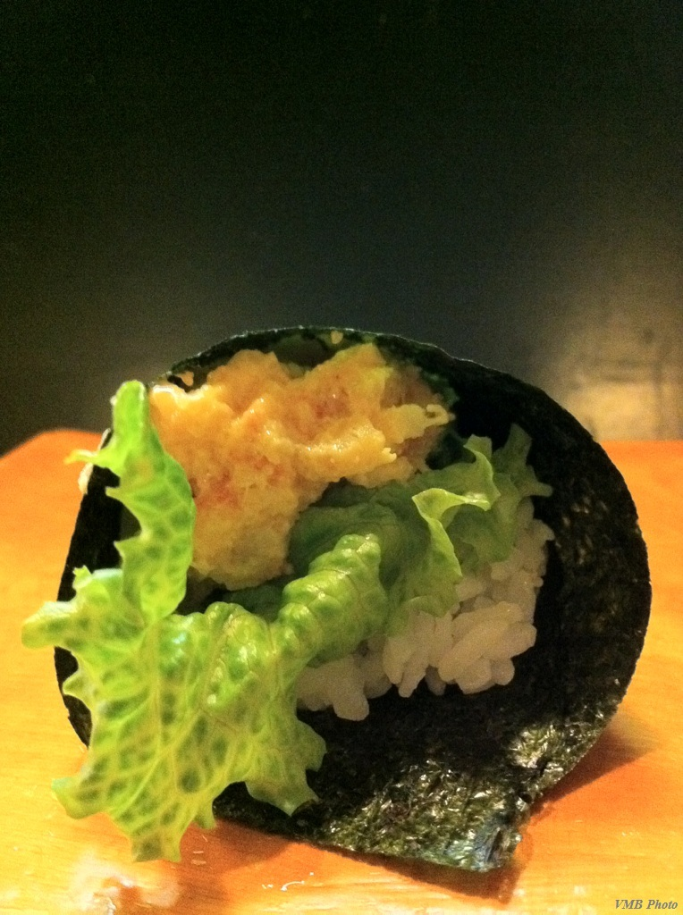 Lunch Special: Lobster hand roll