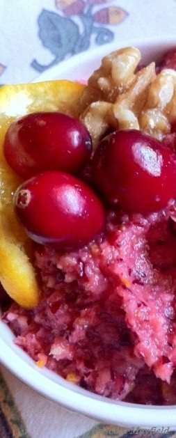 Cranberry Conundrum: The Cooked, and the Raw