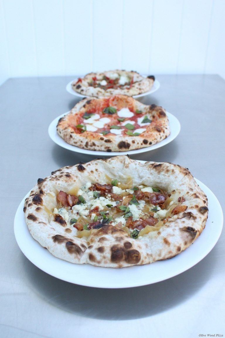 Olive Wood Pizza's Mobile Unit Dispatched to H.B.—Without a Moment to Spare