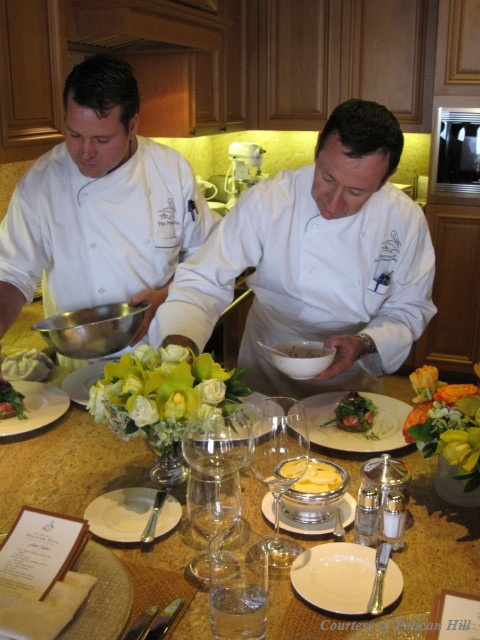 Pelican Hill Cooking Academy: With the Chef, in the Kitchen, by the Sea