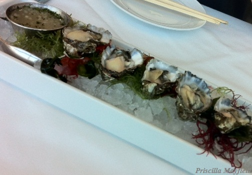 Lunch Special: Kumamoto Oysters at Hamamori