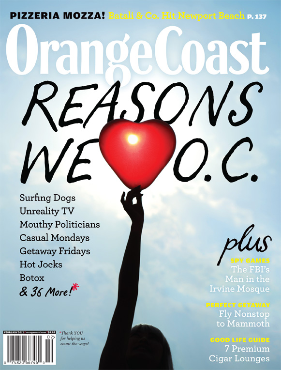 Orange Coast Food:  February Edition