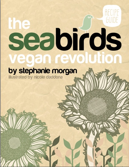 Seabirds Vegan Revolution e-Cookbook—Plant-Based and Packed With Flavor