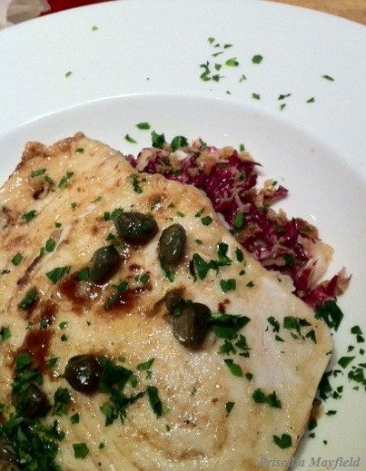 What Did We Cook:  Swordfish Piccata