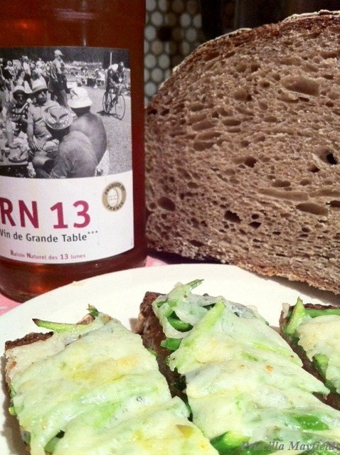 The Age of Asparagus 2012―Try a Tartine
