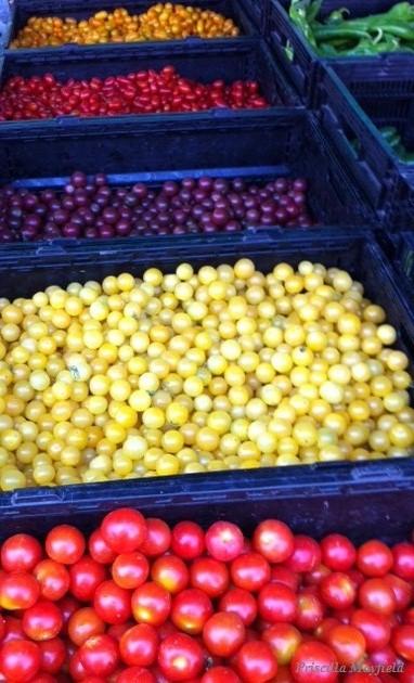 Beyond the Relish Tray—Cherry Tomato Pesto