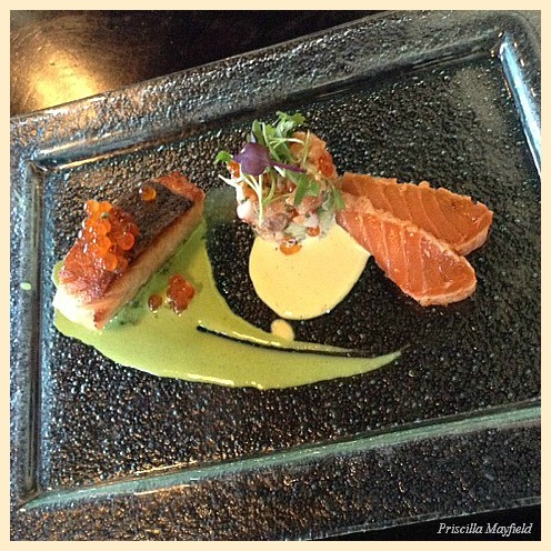 Napa Rose's Sutton Scales the Heights With Skuna Bay Salmon