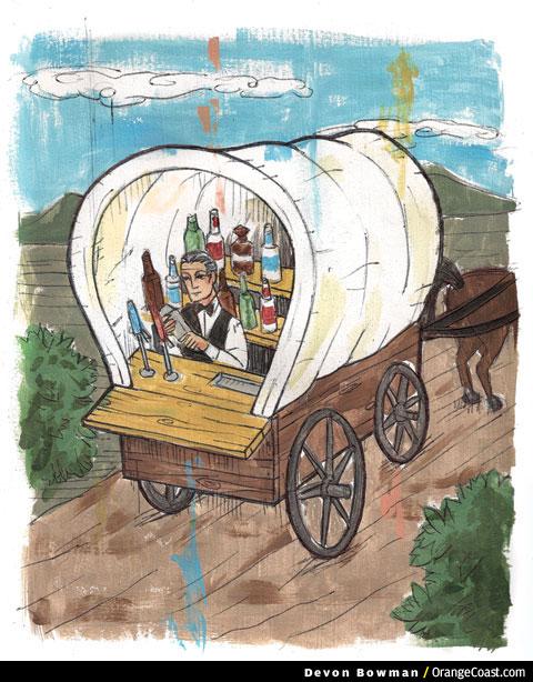 Trailside by El Viaje de Portola, Joseph McCarthy, Garden Grove strawberry or oranges?