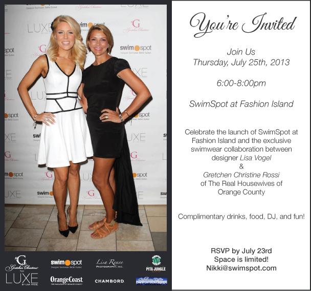 SwimSpot Fashion Island Launch Party / July 25