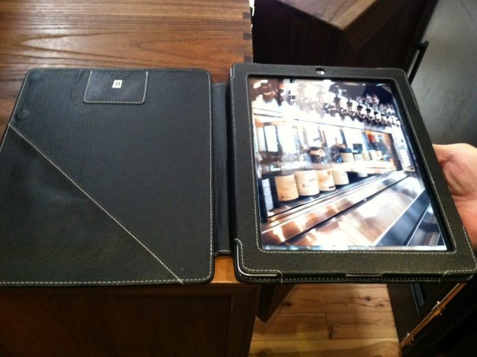 Ipad digital restaurant wine lists there s an app for that - Home design app used on love it or list it ...