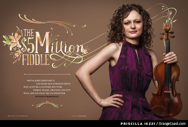 Living with a 324-year-old, $5 million Stradivarius