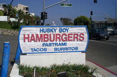 Lil Places We Love: Laguna Beach Institution Husky Boy Burgers