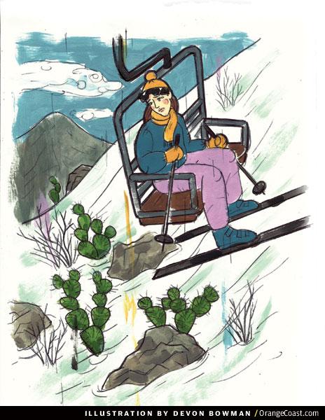 O.C. Answer Man: Old Saddleback sometimes gets snow. Can I ski there?