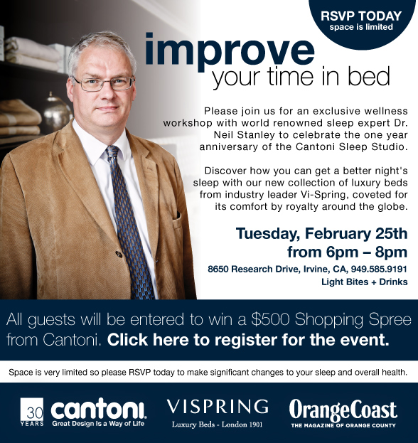 Meet Dr. Neil Stanley at Cantoni / February 25, 2014