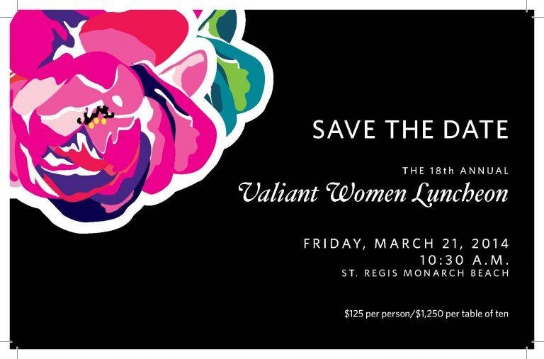 Valiant Women Luncheon / March 21, 2014