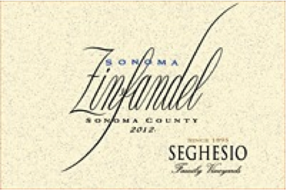 Must Try Wine of the Week: Seghesio Zinfandel Sonoma County 2012, Sonoma County, California