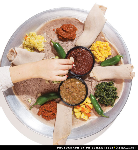 Global Diner: Ethiopian Combo Plate