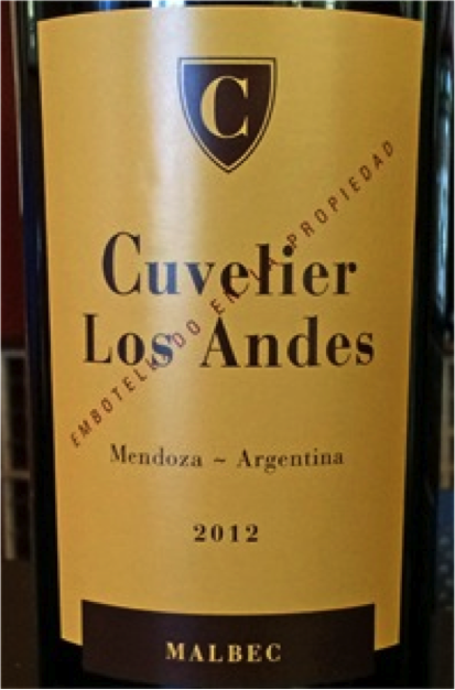 Must Try Wine of the Week: Cuvelier 2012 Los Andes Malbec, Mendoza, Argentina