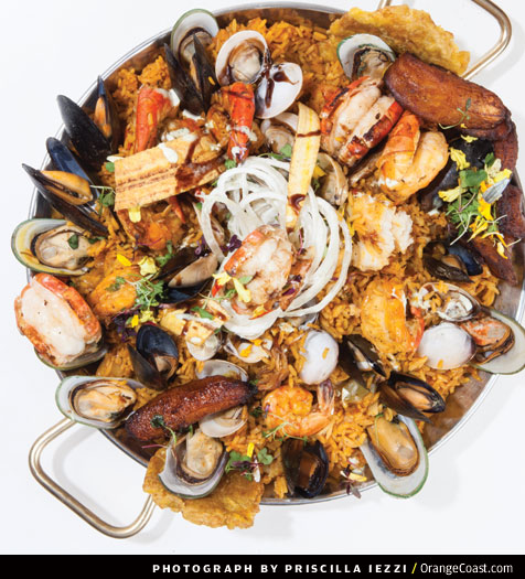 Global Diner: Paella