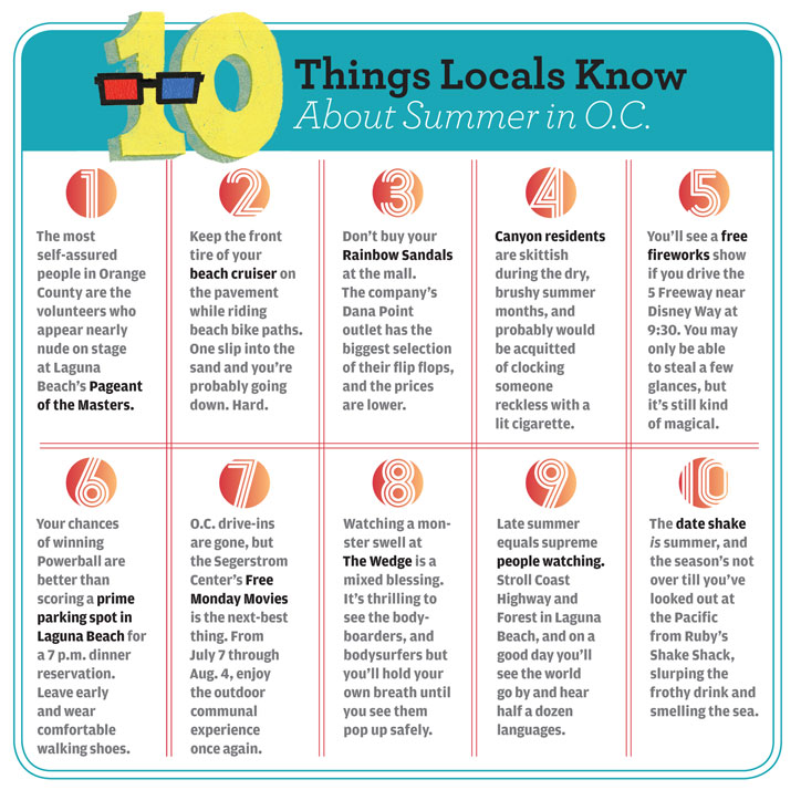 Summer Guide: 10 Things Locals Know