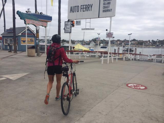 Biking the Orange County Coast from Seal Beach to San Clemente