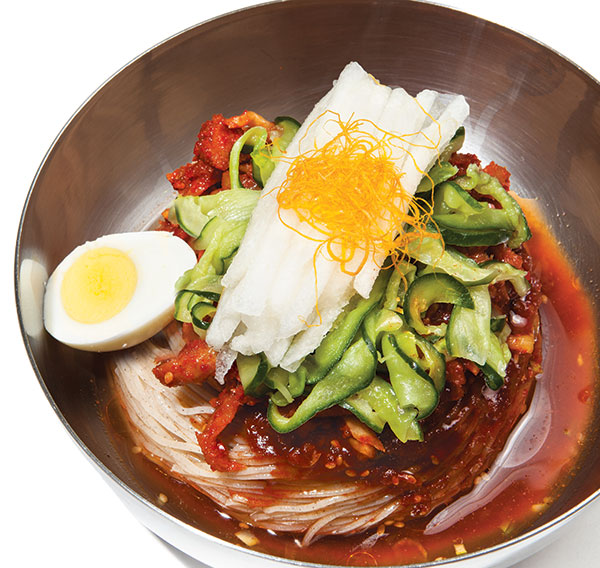 The Global Diner: Korean  Cold Noodles