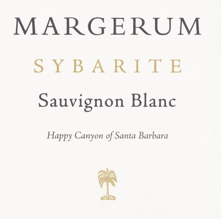 Must-Try Wine of Week: 2012 Margerum Sybarite Happy Canyon of Santa Barbara County Sauvignon Blanc