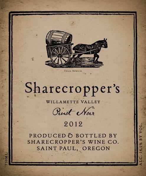 Must-Try Wine of Week: 2012 Owen Roe Sharecropper's Willamette Valley Pinot Noir