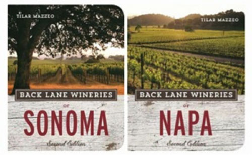 """Book Report: """"Back Lane Wineries of Sonoma"""" and """"Back Lane Wineries of Napa"""""""