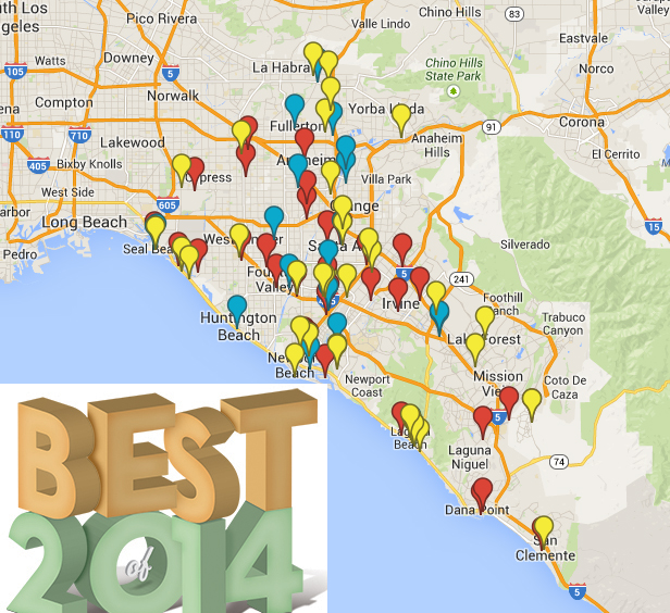 Best of 2014 Map