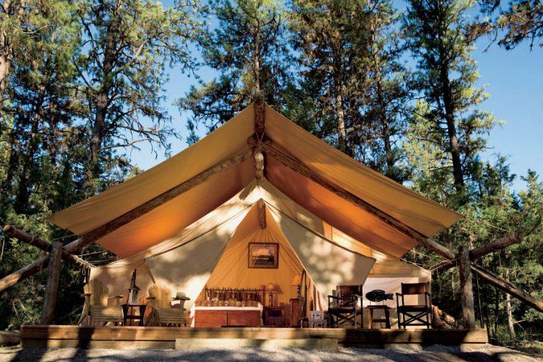 Summer Jaunts: 'Glamping' in Montana