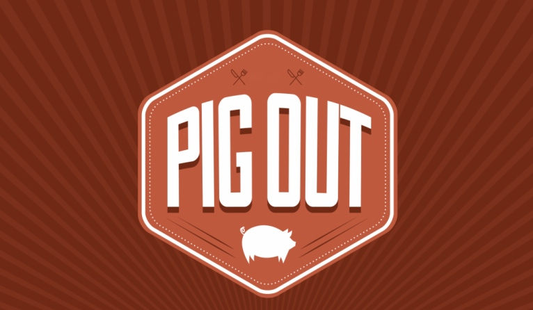 Swine & Sculpture at PigOut 3.0 in Costa Mesa