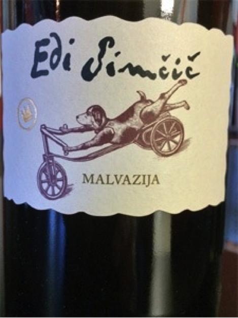 Must Try Wine of the Week: Edi Simcic 2010 Malvazija, Goriska Brda, Slovenia