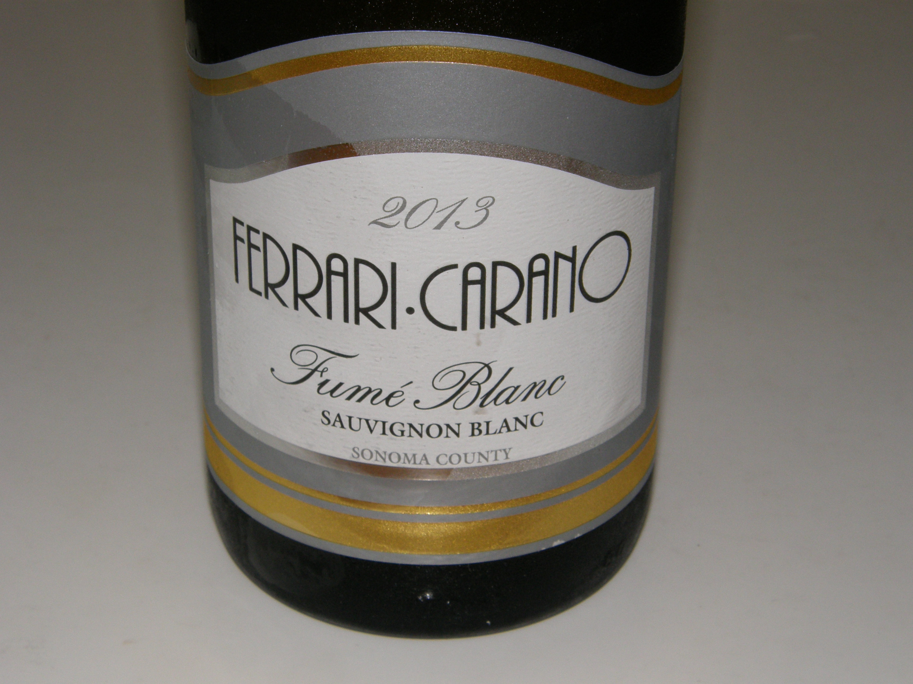 Must Try Wine Of The Week: 2013 Ferrari Carano Fumé Blanc Sonoma County  Sauvignon Blanc