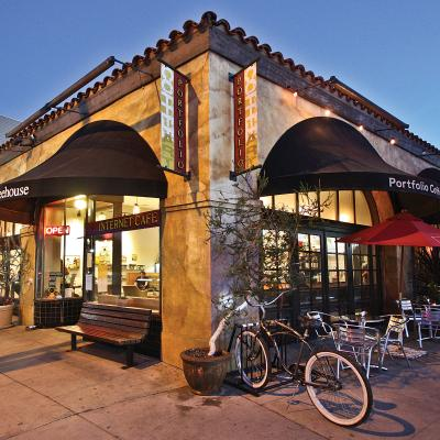 Portfolio coffeehouse Long Beach