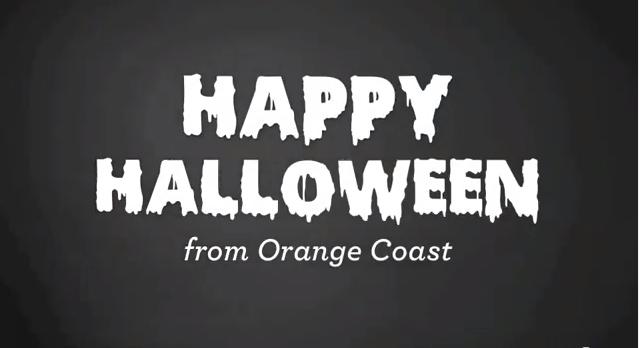 Happy Halloween from Orange Coast Magazine!