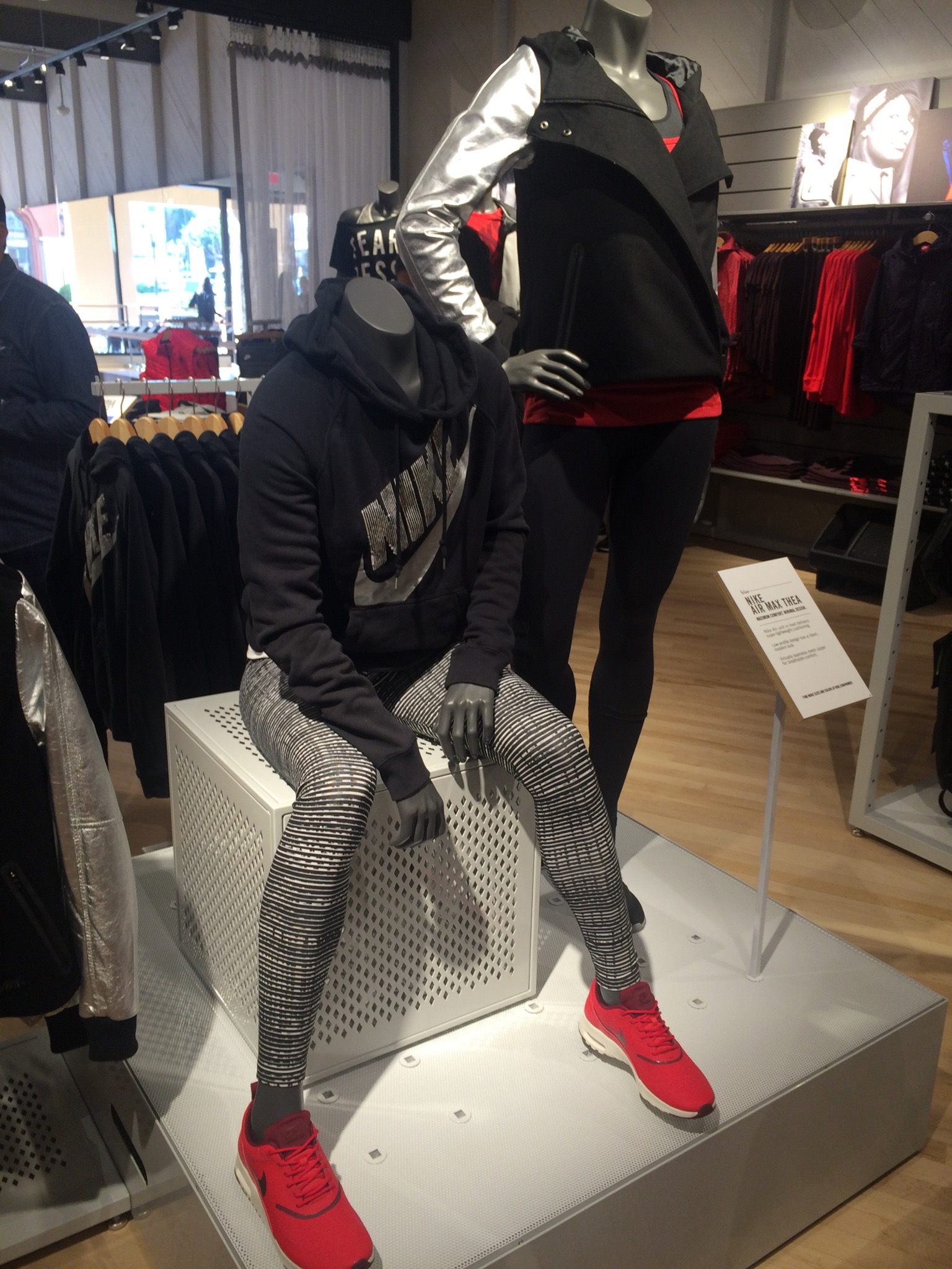 The existing Nike store has been transformed into a women-only shop  featuring some of the higher-end Nike collections (like the  495 Destroyer  Butterfly ... b88e08023544