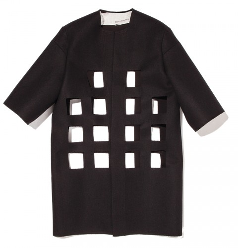 Bonded wool jacket by Nancy Stella Soto, $395