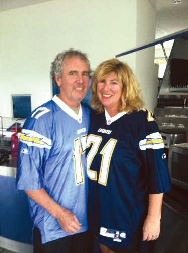 Brad and Andra Sachs were planning to downsize to a San Diego condo when this photo was taken in 2013.