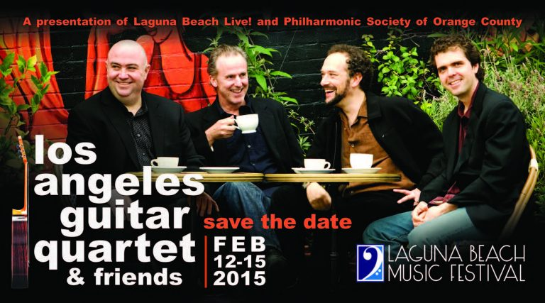 13th Annual Laguna Beach Music Festival Artists Announced