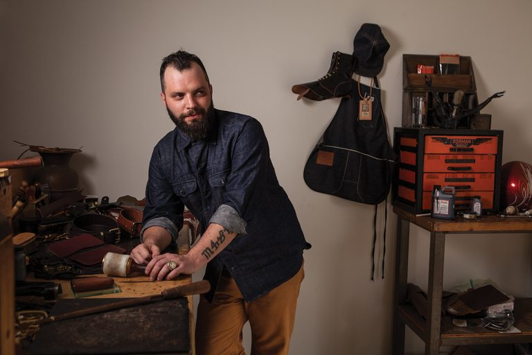 Handmade in O.C.: Blackacre Leather Goods