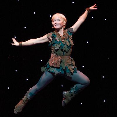 As Peter Pan in 2004