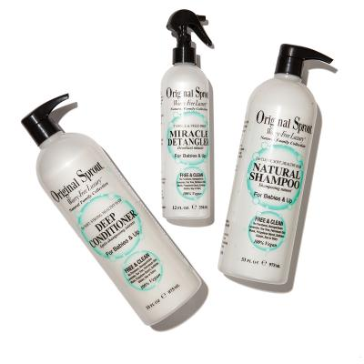 Hair-care products by Original Sprout, $27 to $47.
