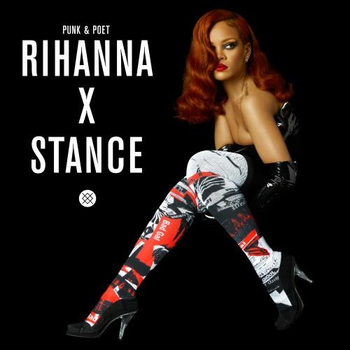 Singer Rihanna will design socks for San Clemente-based Stance.