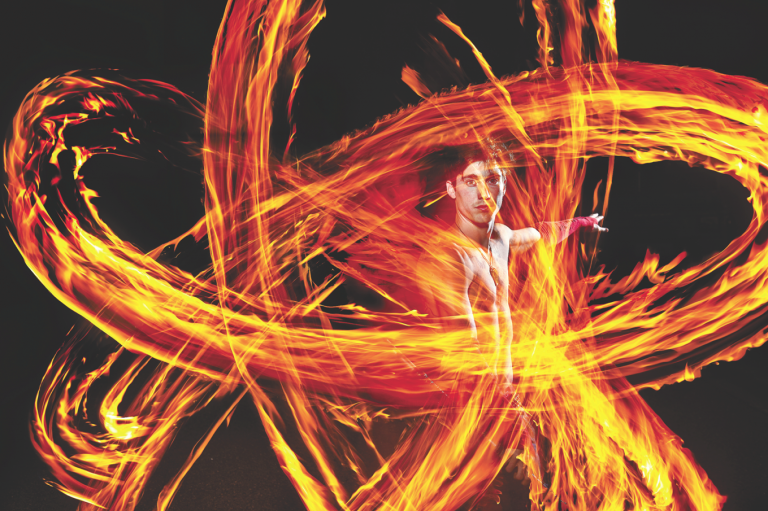 Catch These O.C. Fire Dancers at Burning Man